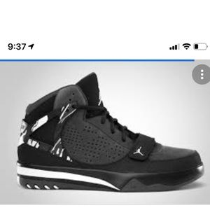 Nike Men Black/Gray Jordan Phase 23 Hoops Size 11